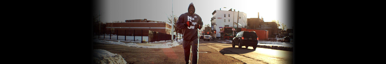 Robert Wilmote running in Newark