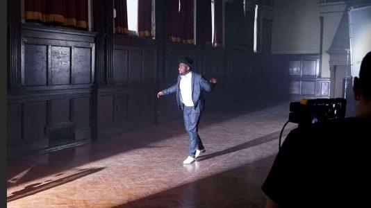 Maurice Chestnut dancing