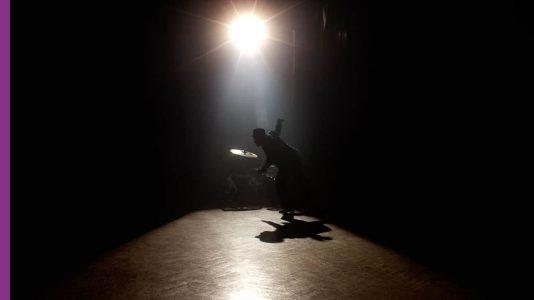 Maurice Chestnut dancing in the dark